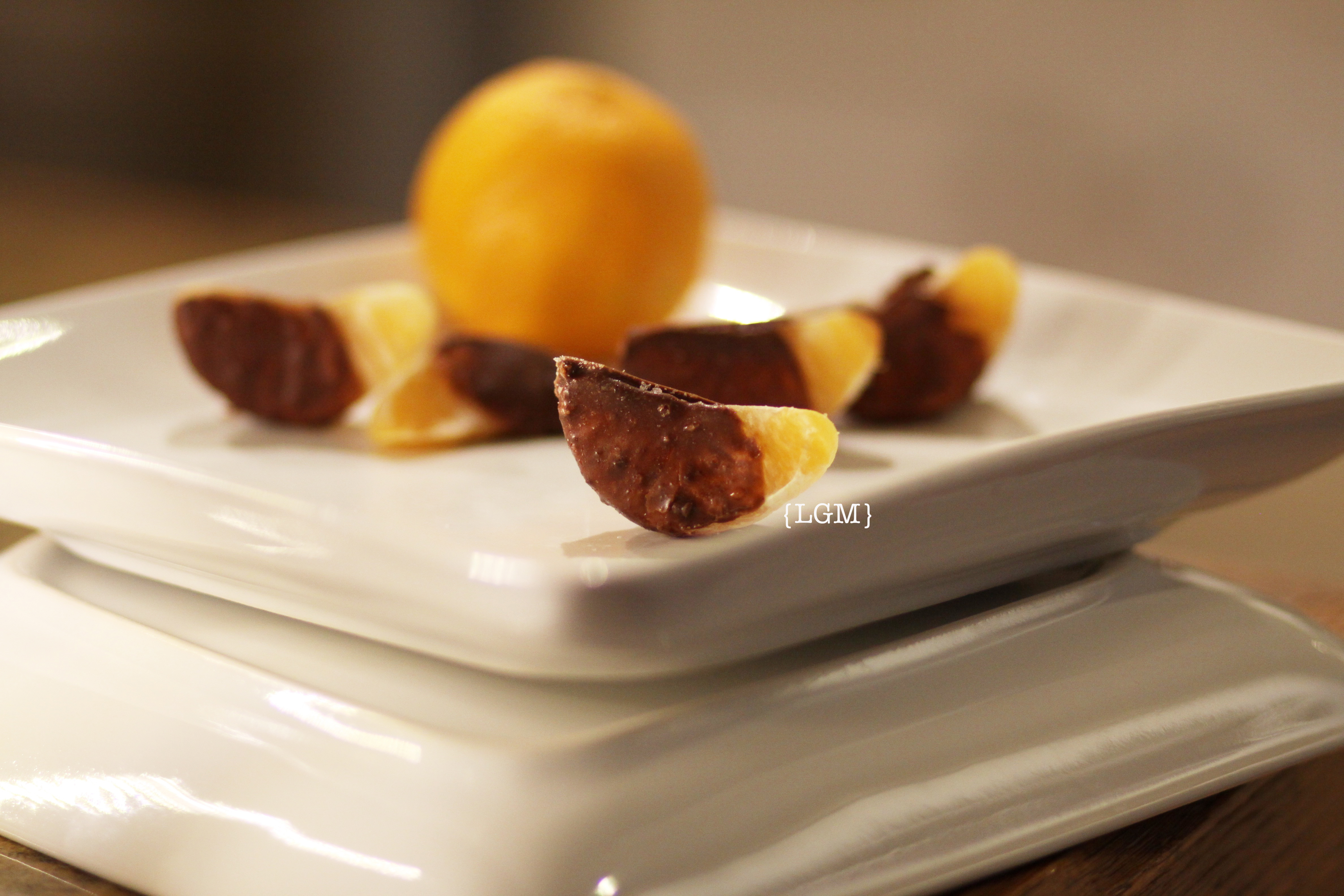 chocolate covered orange slices